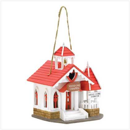 Wedding Chapel Birdhouse B38276