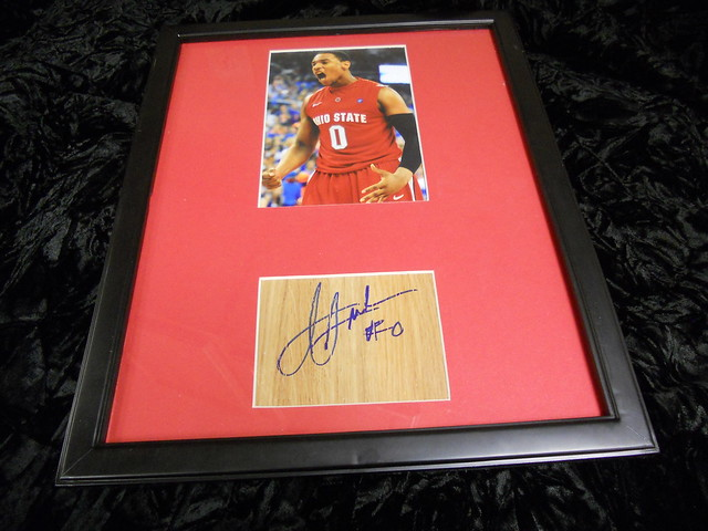 JARED SULLINGER Autographed/Framed Photo