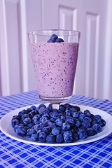 Blueberry Oatmeal Maple Smoothie (Kitchen Life of a Navy Wife) Tags: breakfast maple oatmeal blueberry shake syrup smoothie