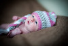 Baby Sienna (Helen Morcom Photography) Tags: portrait baby cute hat photography crochet newborn knitted nikond700