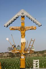 Cruz Ortodoxa (Lares, Cangas) Tags: cruz inri crucifixion rumania moldova calavera moldavia serpiente lanza adn iglesiaortodoxa monasterioderasca jessnazarenoreydelosjudos