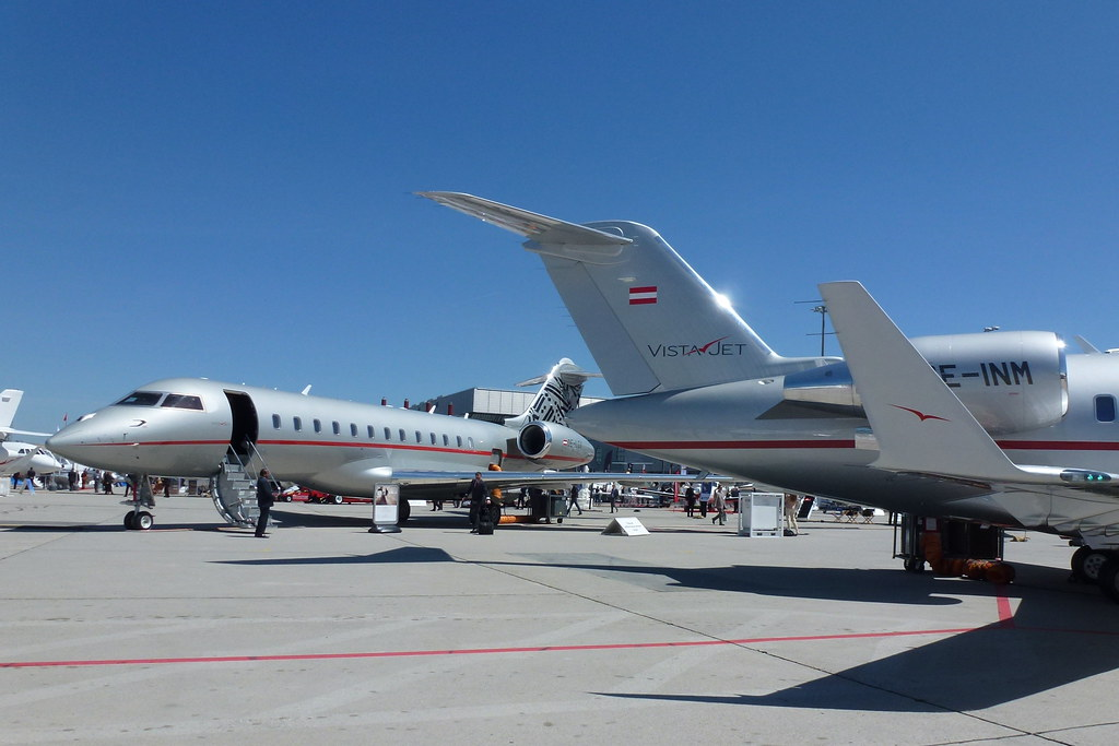 Vistajet EBACE 2012 Static Display