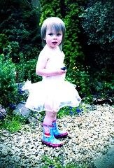 343/365 A ballirina's outfit is only truly complete when worn with Wellies! (thelacussolis) Tags: camera pig emo wellies peppa so ballirina