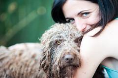 Rita y Laura (J Cristian R) Tags: portrait love dogs spain retratos perros mallorca 85 mascotas
