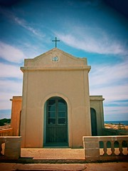 chapel (netman007 (Andre` Cutajar)) Tags: flowers sky sun nature chapel malta andre quotes gozo mediterrean cutajar commino
