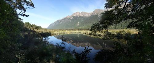 Mirror Lakes - New Zealand