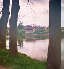 2014 Czech Republic: Gardens and meadows (DIANA MINI) (yerzmyey) Tags: lake nature forest garden lomography lofi meadow mini diana yerzmyey