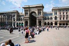 Piazza del Duomo III. (gambit03) Tags: italien italy milan square place dom milano platz passage piazzadelduomo tr galleriavittorioemanueleii olaszorszg miln passzzs