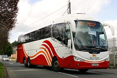 SE20, Monaghan Town on an X33 service from Derry (D464-Darren Hall) Tags: buseireann se20 12d13477
