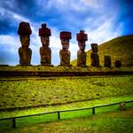 Ahu Nau Nau (Rapa Nui, Chile)