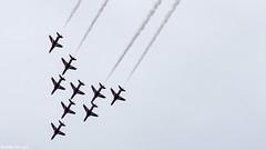 Luchtmachtdagen 2014 (Martijn M.) Tags: red airport apache aviation f16 lancaster arrows spitfire hornet hawker 2014 fighterjet gilze rijen luchtmachtdagen