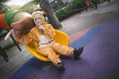 _A8A2504 (KMP Nguyen) Tags: cosplay anime manga lion saber fate zero game playground park japan fun