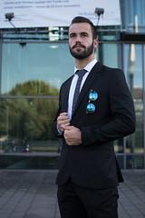 Buisness male model hex tie (alparslankabasakal1) Tags: anzug buisness hex niklas sonnenbrille volksbank bank