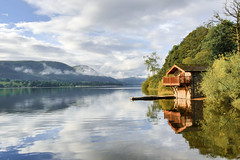 Ullswater Lake District (Ian Wallin Photography) Tags: water lake ullswater lakedistrict canon canon5dmkiii canon5d canon1740f4l trees tree reflection england