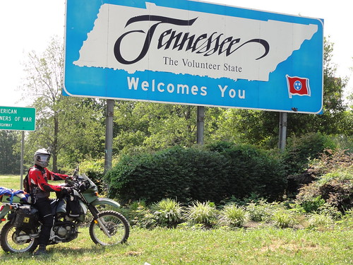 Entering Tennessee