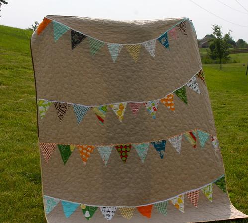 Eli's Banner Quilt - Finished!