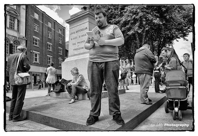 Street Readers......