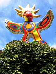 Sun God Art, UCSD Campus,San Diego (moonjazz) Tags: california bird art students campus wings sandiego publicart sungod ucsd nikidesaintphalle