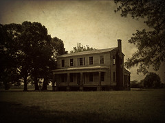 Mt. Moriah (History Rambler) Tags: old chimney house abandoned home architecture rural south phillips northcarolina historic southern porch plantation antebellum decayed tinroof greekrevival edgecombecounty oncewashome