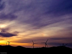 wind energy (- GD photography -) Tags: sunset sky portugal clouds atardecer energy wind viento cielo nubes molinos eolica