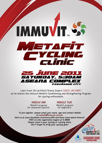 Immuvit Metafit Cycling Clinic