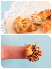 A Balanced Breakfast (simplystella) Tags: breakfast miniatures miniature chocolate pastel think nuts charm yang croissant nut jam yinyang yin charms croissants thinkpastel simplystella