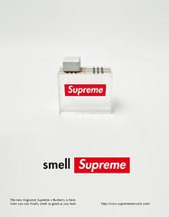 SUPREME x BURBERRY (jiesh) Tags: school print graphicdesign perfume ad mah supreme burberry malmhgskola parfym