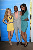 Jennifer Knuth, AJ Johnson, Katrell Mendenhall attending the NBC Universal Summer Press Day, held at The Langham Huntington Hotel and Spa Pasadena, California