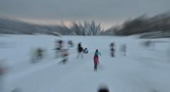 Eislauf in Hahnenklee, Harz, Januar 2010