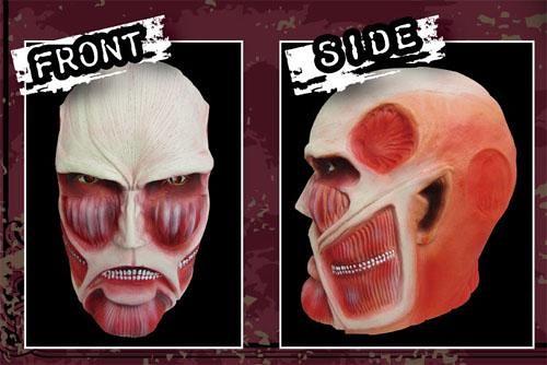 進撃の巨人 巨人的面具