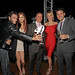 Comedian Ben Morrison, actress Jayden Cole, John Jordan, Juliet Huddy of Fox News Network and comedian Ben Gleib at Jordan Vineyard & Winery's 40th Anniversary, held on The London Hotel rooftop in West Hollywood, California, USA on Monday, April 23, 20