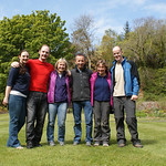 Flying team - Natalie, David, Jill, Gordon, Kim, me