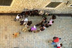 Tourists (kh1234567890) Tags: pentax candid croatia streetphoto 1855mm dubrovnik k7 smcpentaxda1855mmf3556alwr smcpda1855mmf3556alwr
