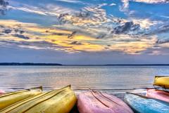 Hilton Head Sunset (Jeremy Duguid) Tags: sunset sun colors clouds canon island town day colours cloudy harbour dusk head south hilton jeremy canoes carolina kayaks duguid 50d jeremyduguid