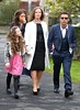 Craig Charles and family The wedding of Irish footballer Glenn Whelan to Karen Byrne held at St. Philomena's Church in Palmerstown Dublin, Ireland