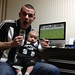 "gaotw0049<br /><span style=""font-size:0.8em;"">Dad Aaron and baby Noah, watching the match in Japan!</span> • <a style=""font-size:0.8em;"" href=""http://www.flickr.com/photos/68478036@N03/7242137258/"" target=""_blank"">View on Flickr</a>"