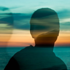 dawn face (Vasilis Amir) Tags: boy sea motion blur male silhouette sunrise square landscape moving experimental move transparency transparent icm twofaces  abstractportrait intentionalcameramovement  mygearandme mygearandmepremium vasilisamir