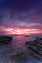 Sky on Fire | Wollongong, NSW (Taha Elraaid) Tags: beach beautiful sunrise canon eos image mark iii australia nsw 5d mm 1740 fiery taha wollongong illawarra wollongongcity canoneos5dmarkiii elraaid tahaphotography tahaelraaid skyonfire|wollongong skyonfirewollongong