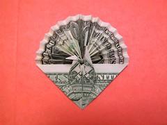 dollar bill crane fan (FJ Contreras) Tags: fan bill origami crane dollar orikane