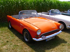 Sunbeam Tiger 289 (Zappadong) Tags: auto classic car automobile tiger voiture days coche classics oldtimer schloss oldie sunbeam carshow youngtimer automobil 289 dyck 2013 oldtimertreffen zappadong