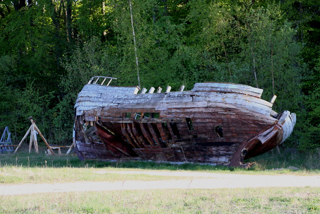 Dania, Hobro, Gammelt skibsvrag