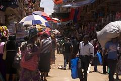 Shopping streets in Kampala