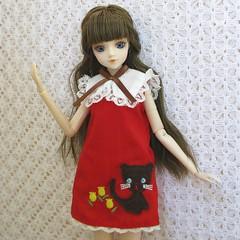 J-Doll Petit Champlain (Wisteria floribunda) Tags: scale miniature outfit doll dress rice clothes sally champlain groove blythe 16 miss petit jdoll