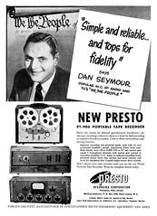presto PT-900 portable tape recorder (Al Q) Tags: portable tape recorder presto pt900