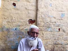 A Suitable Boy (Mayank Austen Soofi) Tags: delhi walla man beard smoke suitable boy vikram seth