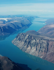 fingers of the Eclipse Sound (T.Cochrane) Tags: canon t2i 550d canada nunavut baffin island pond inlet aviation