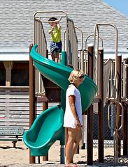 Fire Island Life, Fair Harbor (BruceLorenz) Tags: fire island ny new york long fair harbor great south bay water slat beach slide