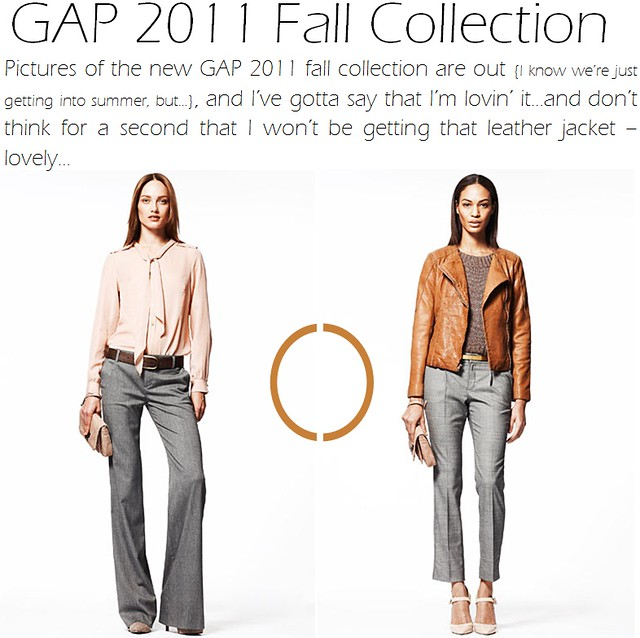gap 2011 fall collection - 1