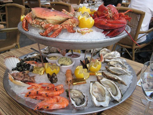 Fresh fruits-de-mer (Tours, France 2011)