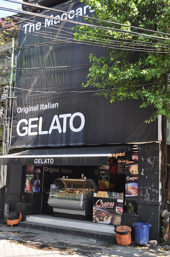 original italian gelato at kuta